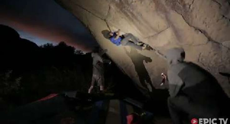 El Diablo (V15): Daniel Woods kreiert sensationellen Highball-Boulder in Mexico (by EpicTV)