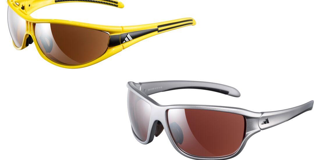 KL Adidas Brillen Terrex und Evil Eye