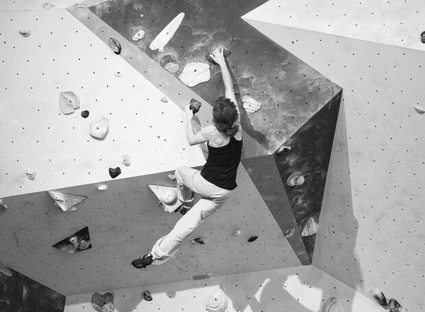 KL Bouldern Klettertechnik Climbmax Sarah