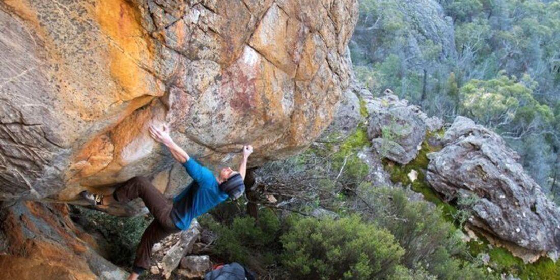 KL Bouldern in den Grampians / Grampians von Sperrung bedroht