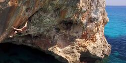 KL Deep Water Soloing Mallorca Psicobloc