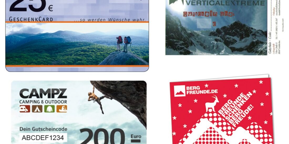 KL Gutscheine für Kletterer