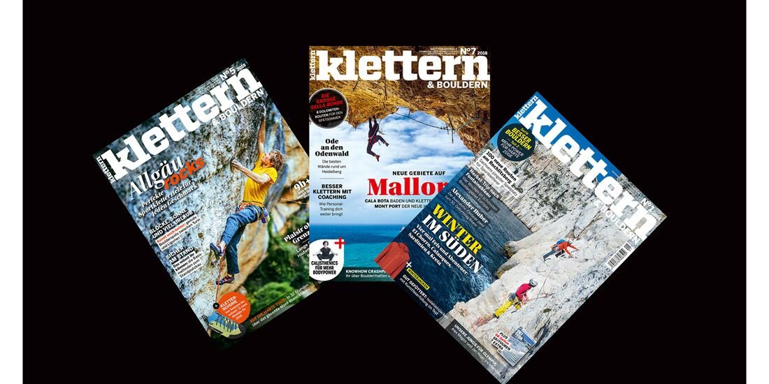 KL KLETTERN-Magazin Abo als Weihnachtsgeschenk