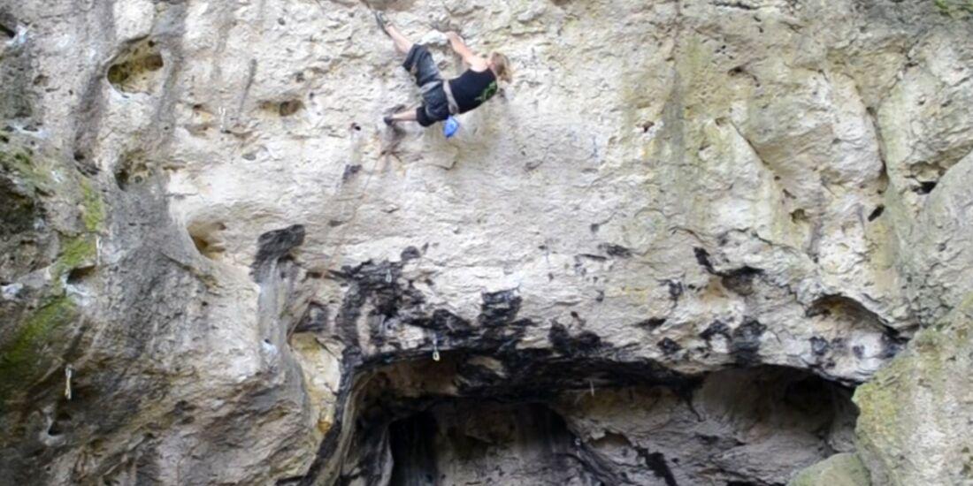 KL Klettern im Frankenjura - Clip von Heiko Queitsch