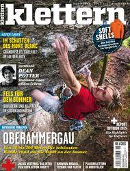 KL Titel Cover klettern Magazin 6-2015