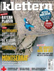 KL cover Titelbild klettern Magazin 02 - 2015