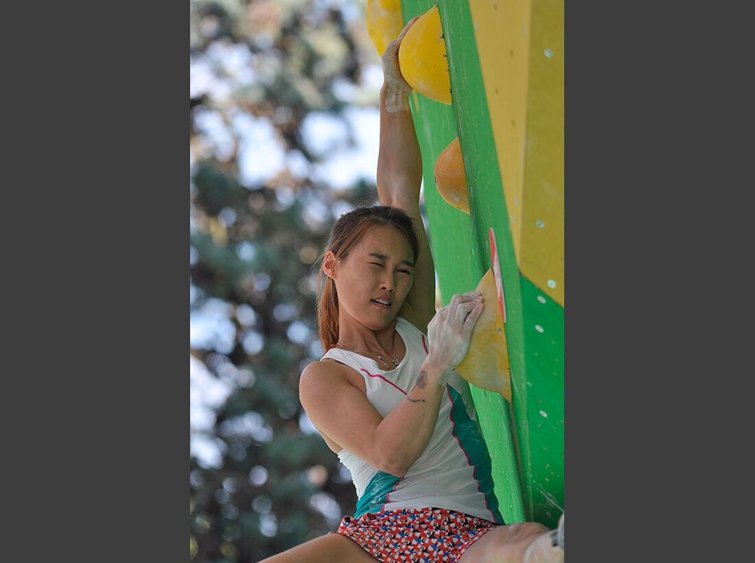 Kletter-Wettkampf: Rock Master Arco am Gardasee (Bilder International Open Boulder) 17