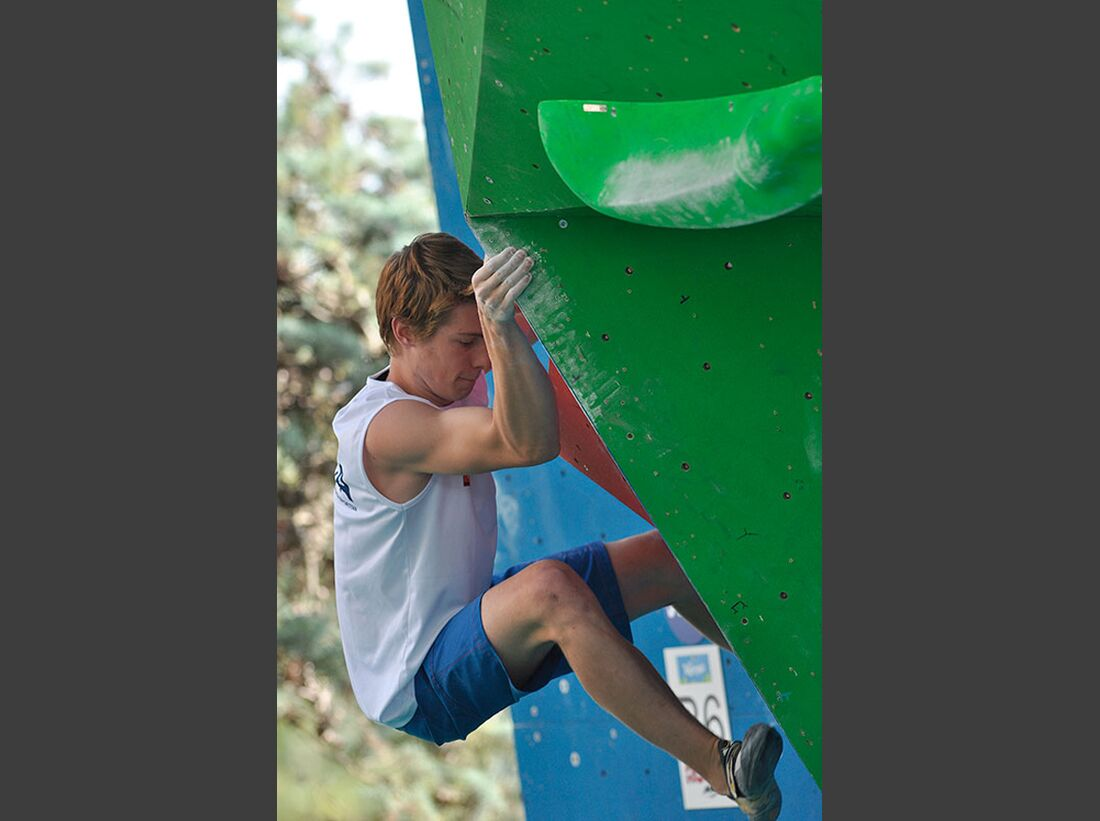 Kletter-Wettkampf: Rock Master Arco am Gardasee (Bilder International Open Boulder) 20