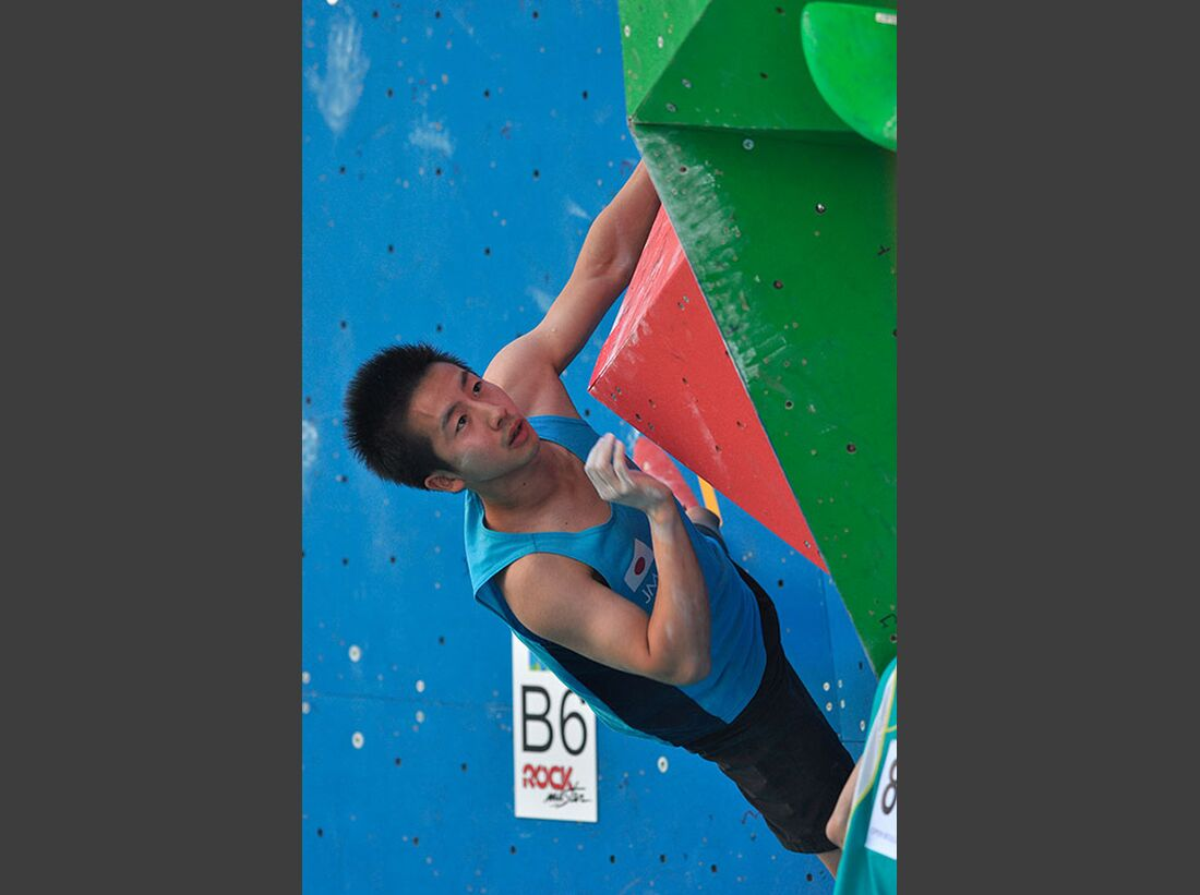 Kletter-Wettkampf: Rock Master Arco am Gardasee (Bilder International Open Boulder) 22