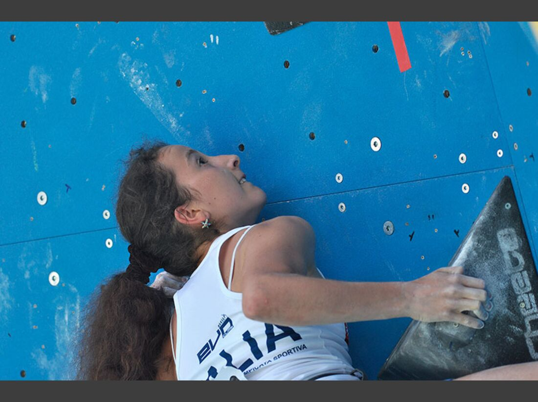 Kletter-Wettkampf: Rock Master Arco am Gardasee (Bilder International Open Boulder) 41