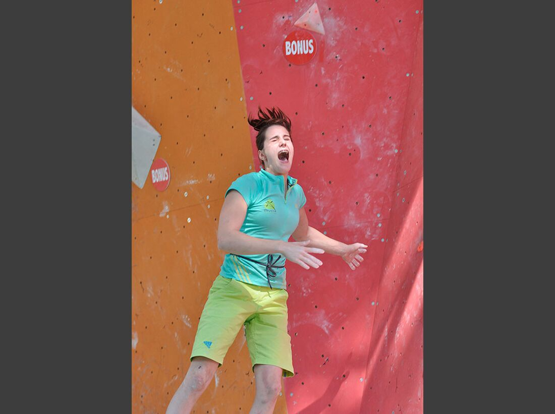 Kletter-Wettkampf: Rock Master Arco am Gardasee (Bilder International Open Boulder) 46