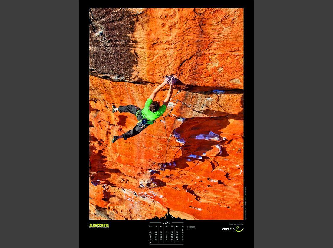 Sportkalender 2014 - klettern, outdoor, Mountainbike 10