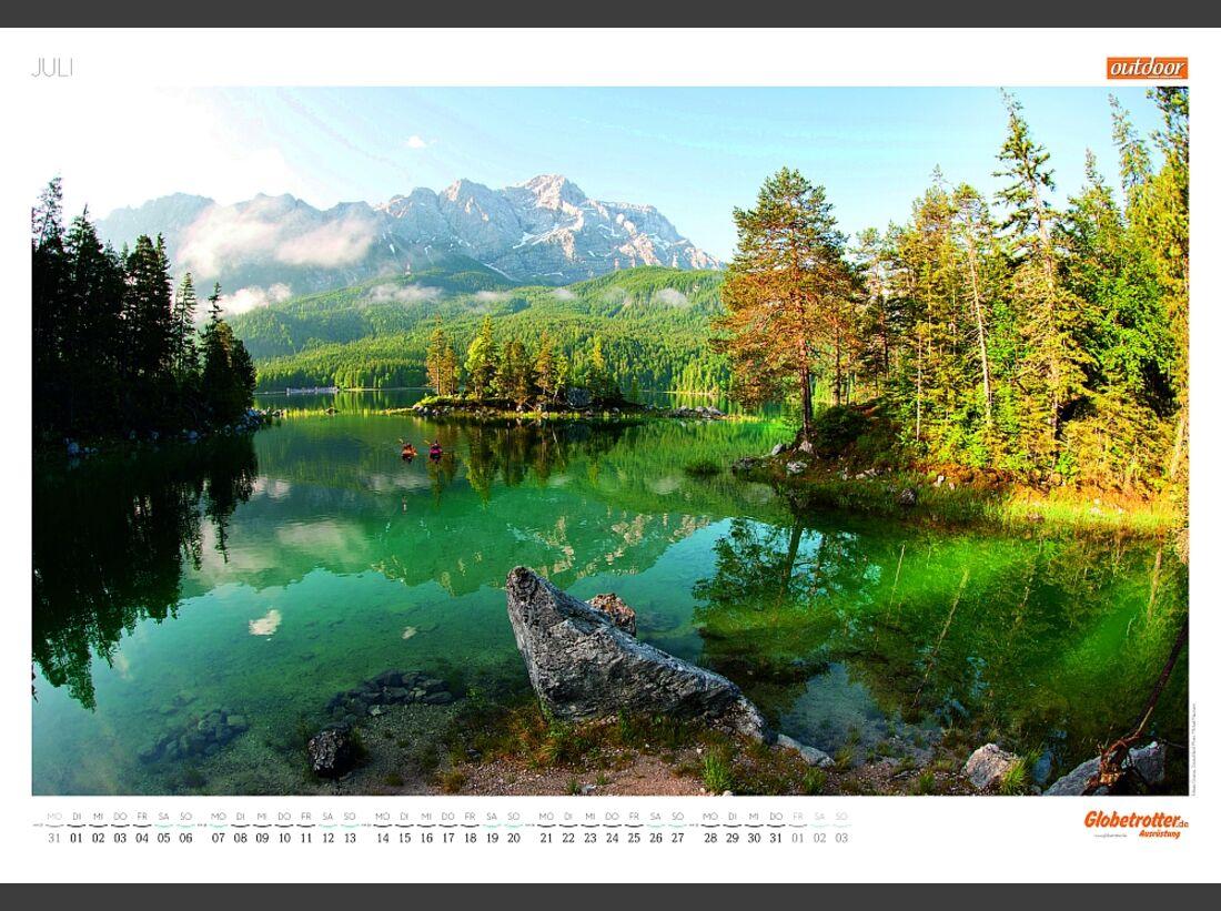 Sportkalender 2014 - klettern, outdoor, Mountainbike 24