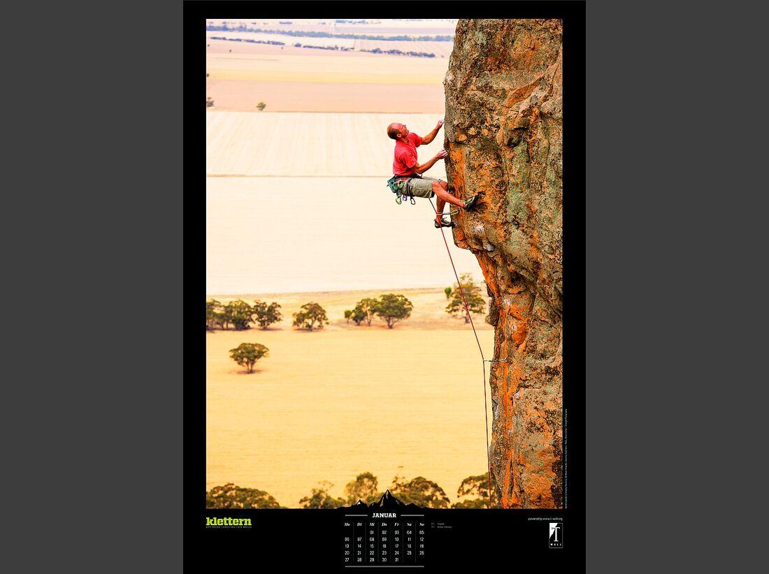 Sportkalender 2014 - klettern, outdoor, Mountainbike 5