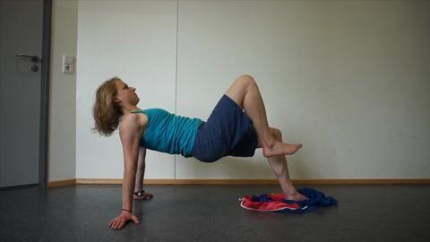 Übung für Kletterer: Rumpf kräftigen